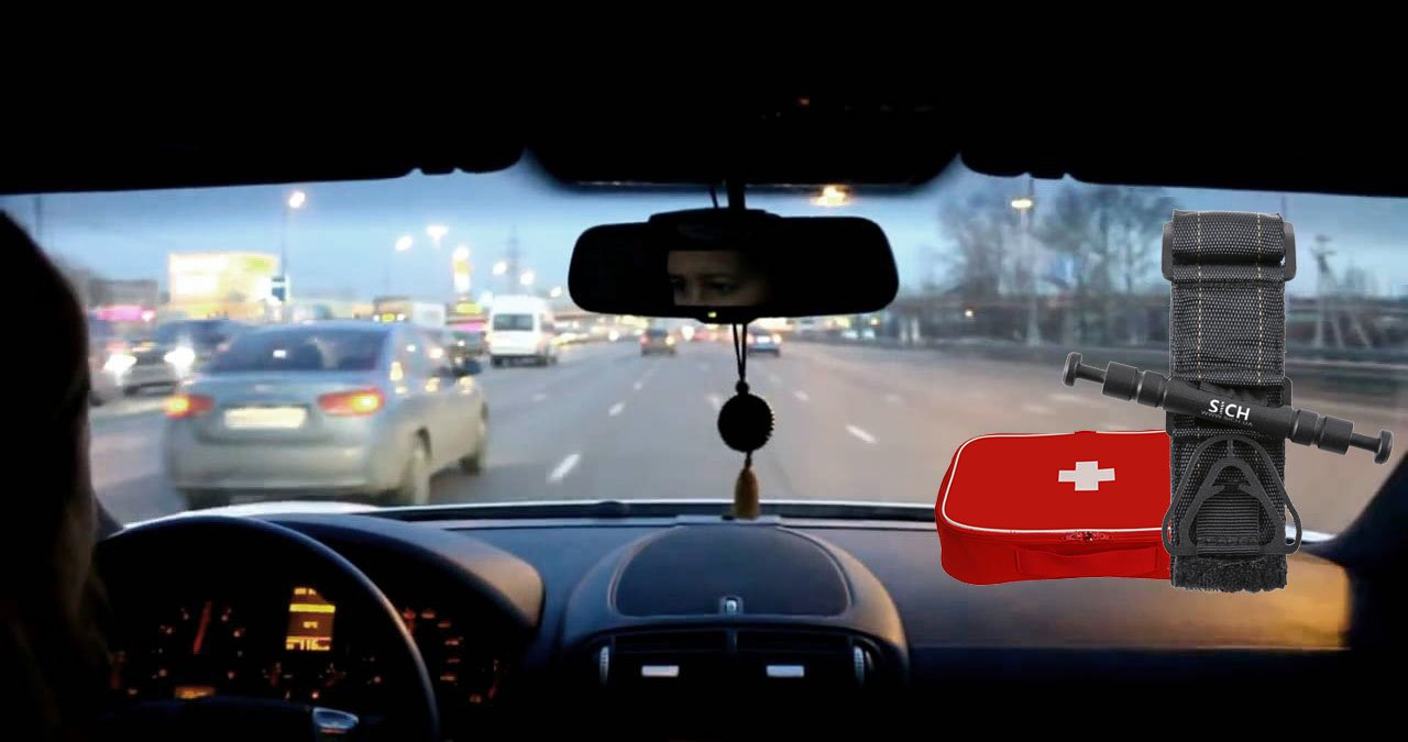 SICH-TOURNIQUET кровоспинний джгут турнікет в автомобільній аптечці